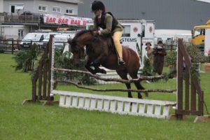 Horselode Duncan ridden by Georgia Evans