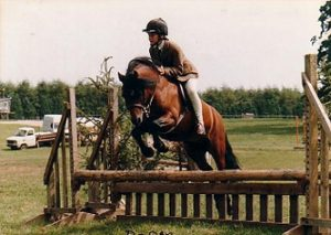 Shilstone Rocks D-Day ridden by Alona Newbolt-Young